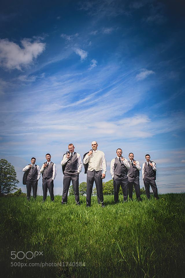 Photograph Groomsmen Stayner Wedding by Vaughn Barry on 500px