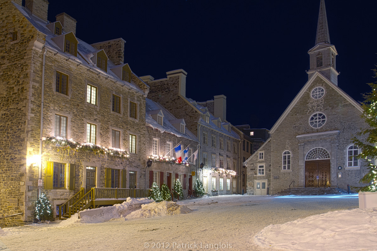 Photograph Place Royale by Patrick Langlois on 500px