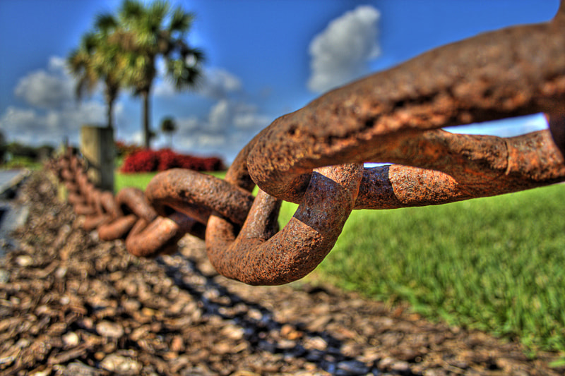 Photograph Rusty Chain HDR by Blake Lyons on 500px