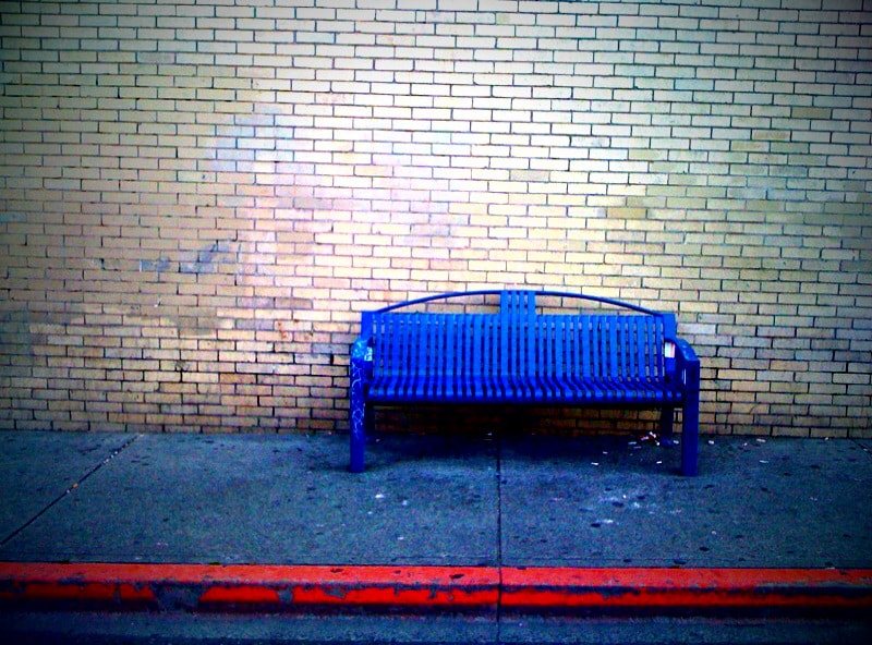 Photograph Bus Stop Bench by Al Smith on 500px