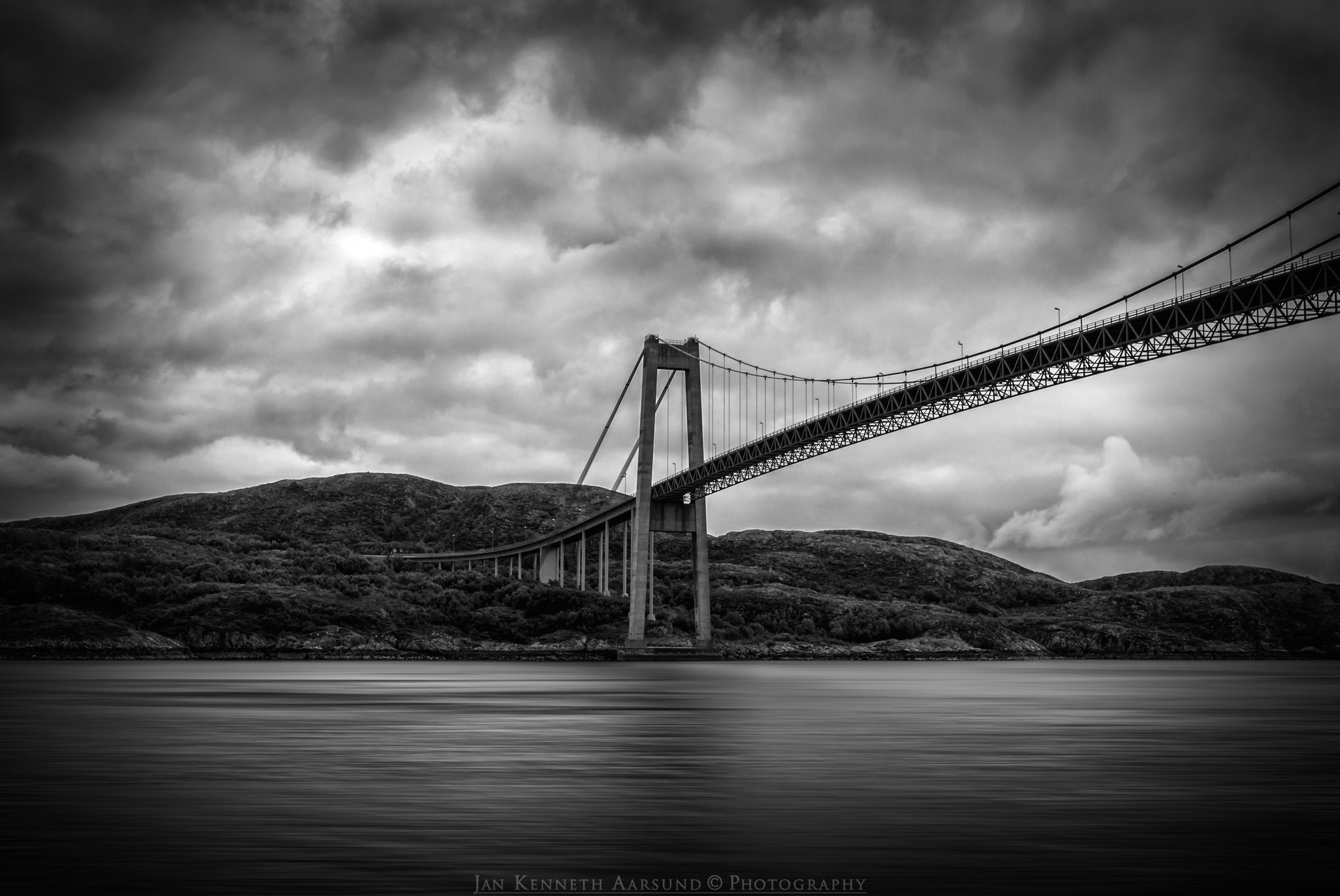 Photograph Suspension Bridge by Jan Kenneth Aarsund on 500px