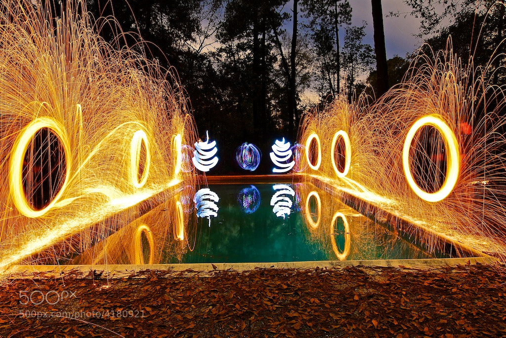 Photograph Painting with Light by Chris Fryou on 500px