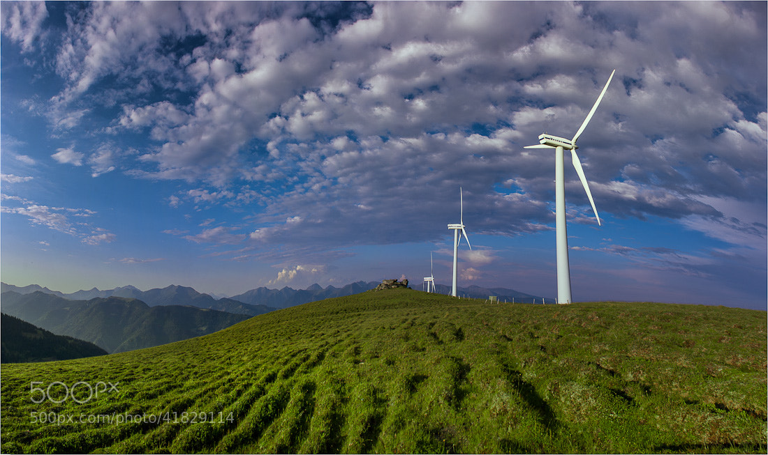Photograph Windpark by Friedrich Beren on 500px