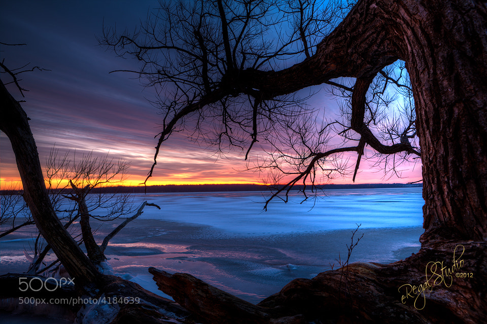 Photograph Sunset over Lake Neatahwanta by Everet Regal on 500px
