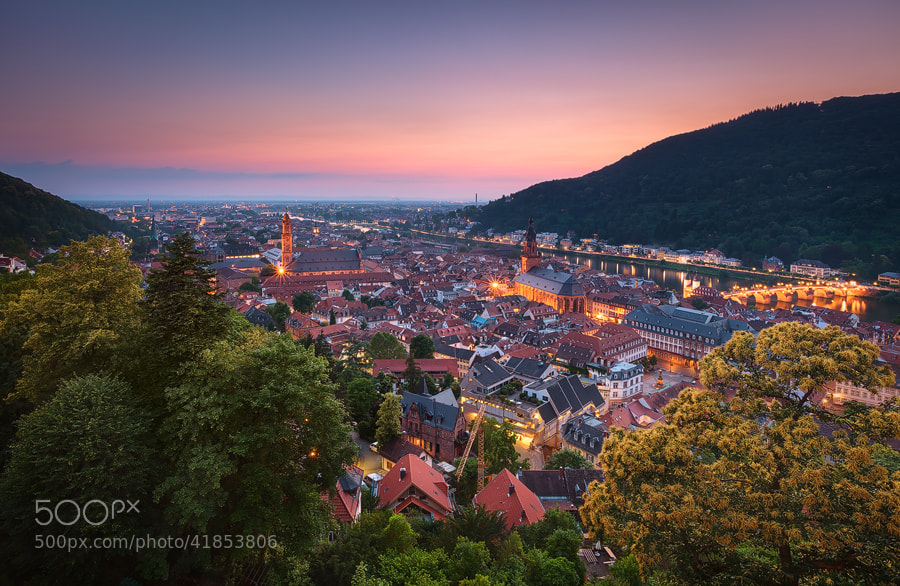 Photograph Heidelberg by Michael  Breitung on 500px