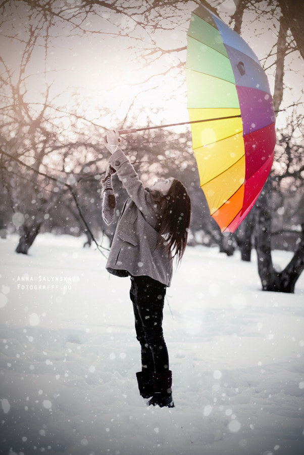 Photograph Rainbow snow by Anna Salynskaya on 500px