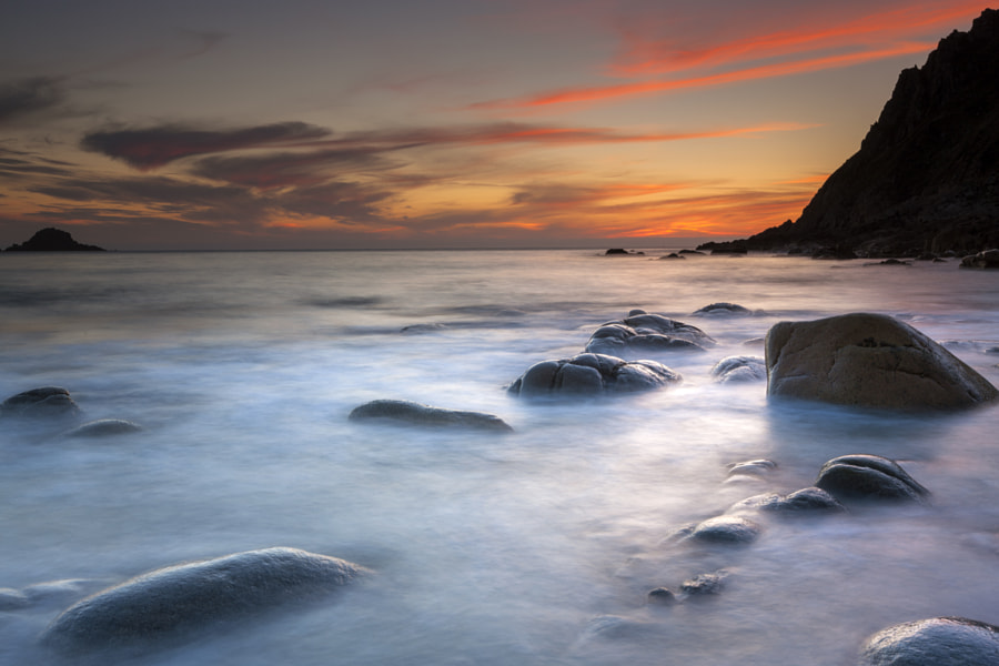 Porth Nanven II by Sebastian Wasek on 500px.com