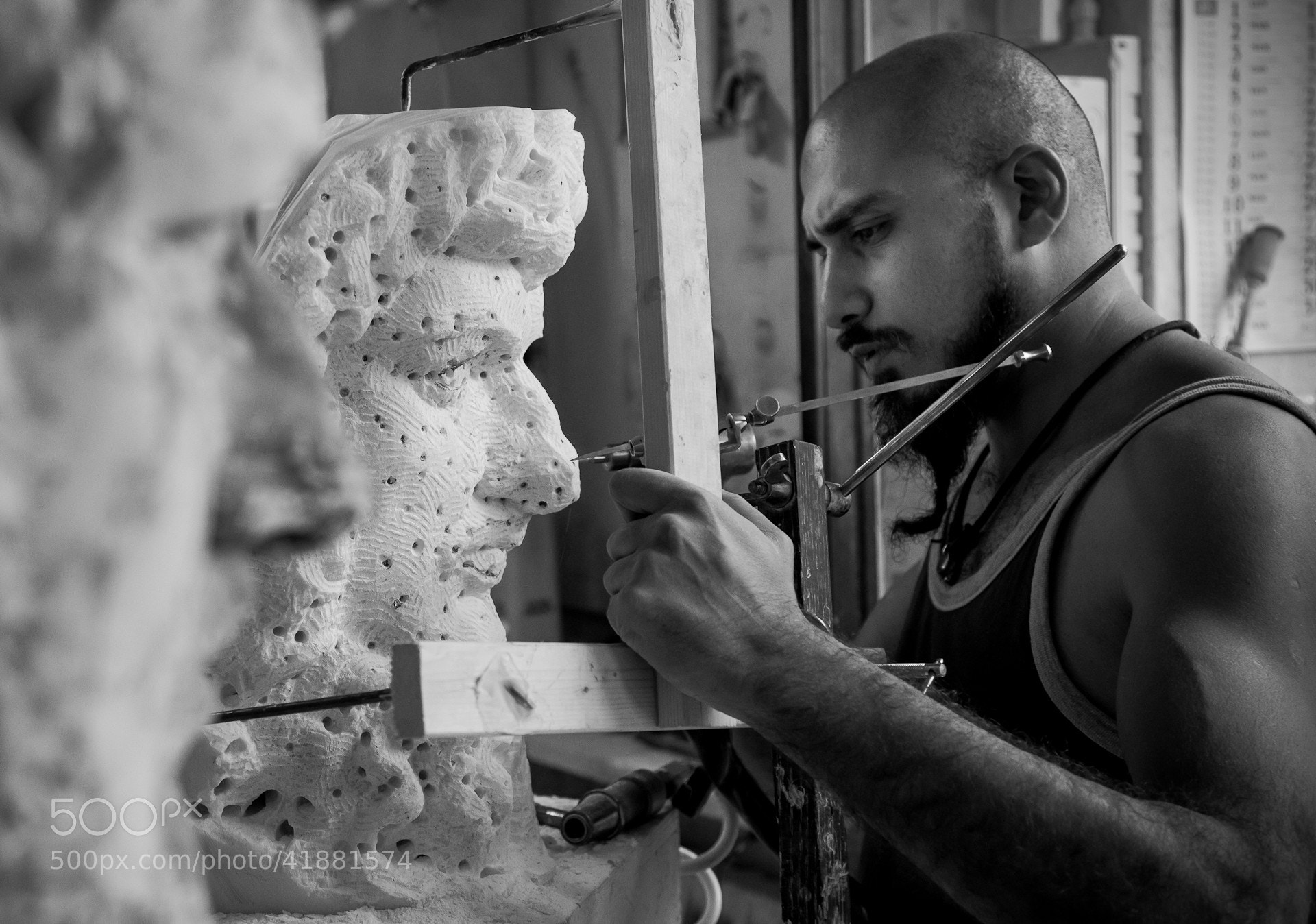 Photograph The sculptor by Marton Apai on 500px