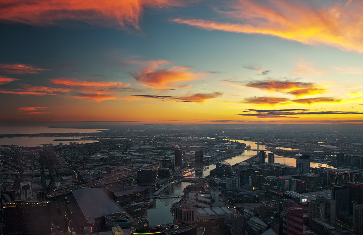 Photograph Melbourne City Sunset by Joshua Tagicakibau on 500px