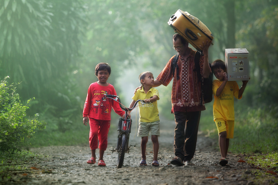 Photograph back to home by taufik sudjatnika on 500px