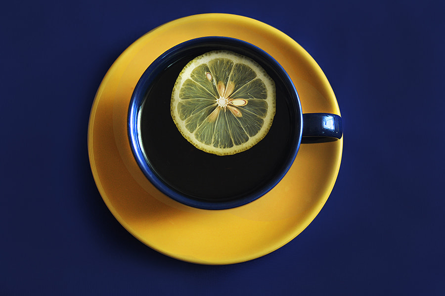 Photograph Tea with lemon by Katherine Shapar on 500px