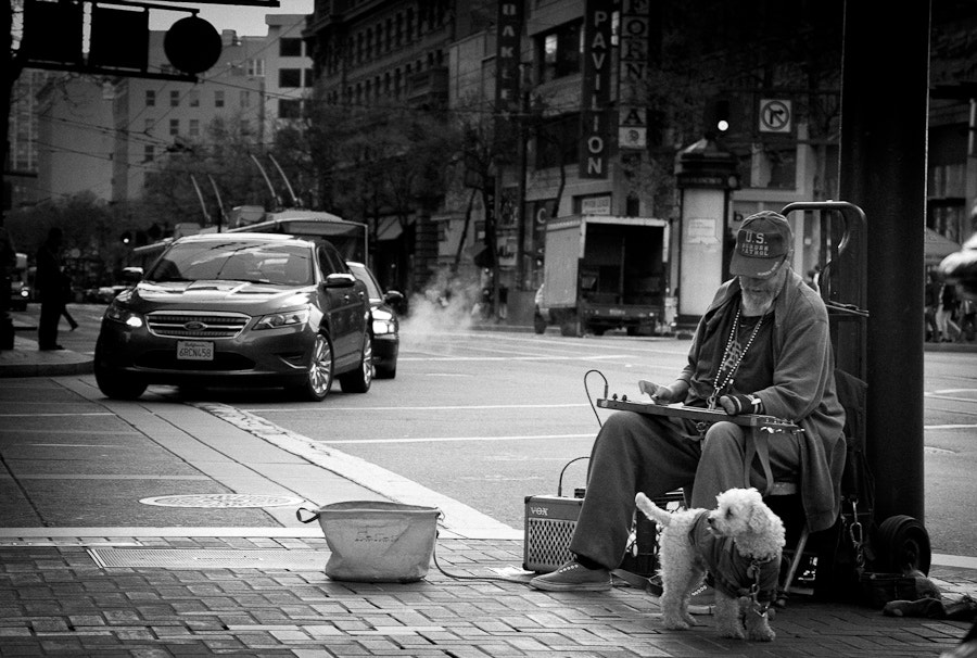 Photograph Sound of the street by Nico Lune on 500px