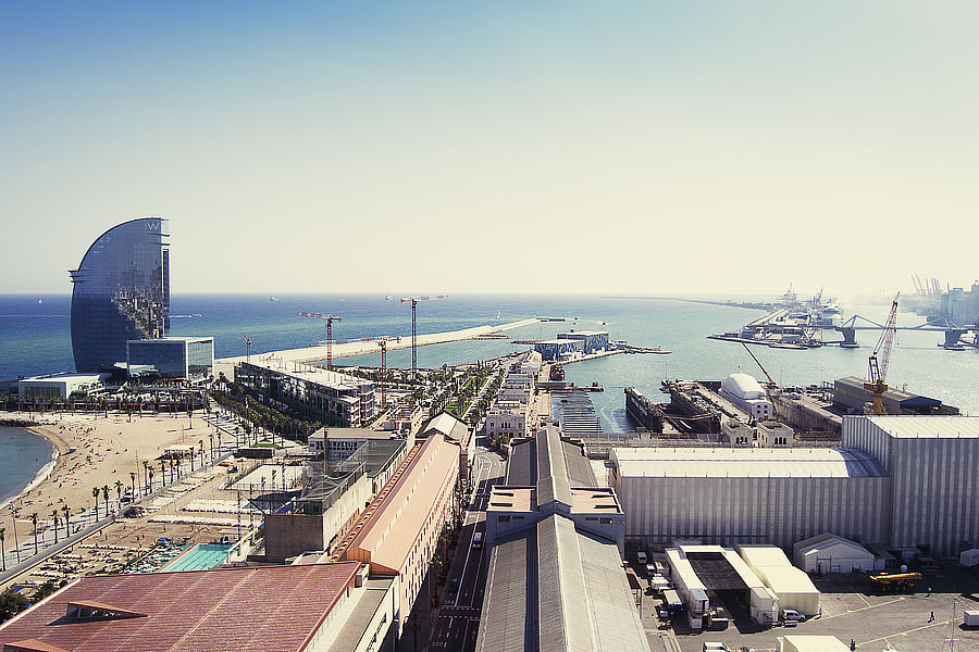 Photograph View from the funicular, Barcelona by Greta Spinoni on 500px