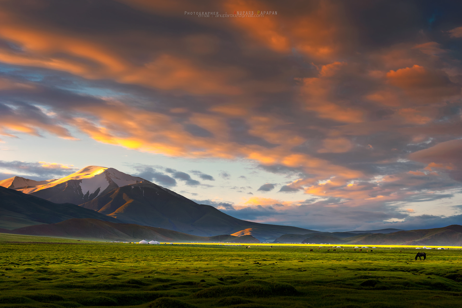 Photograph 2nd Highest Mountain in Mongolia by Anuparb Papapan on 500px