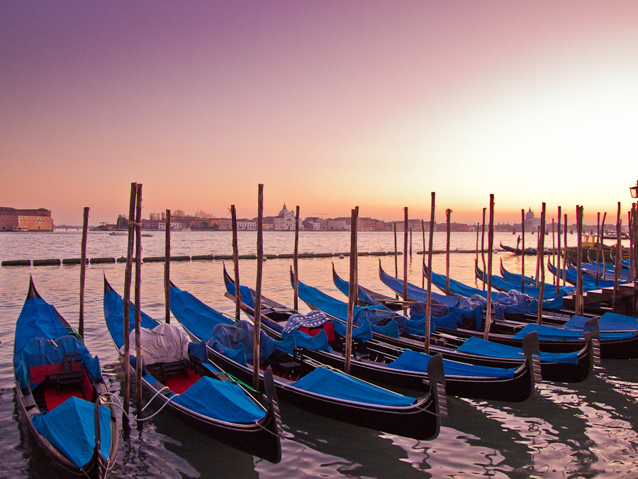 Photograph Gondolas at dusk by Tim Brook on 500px