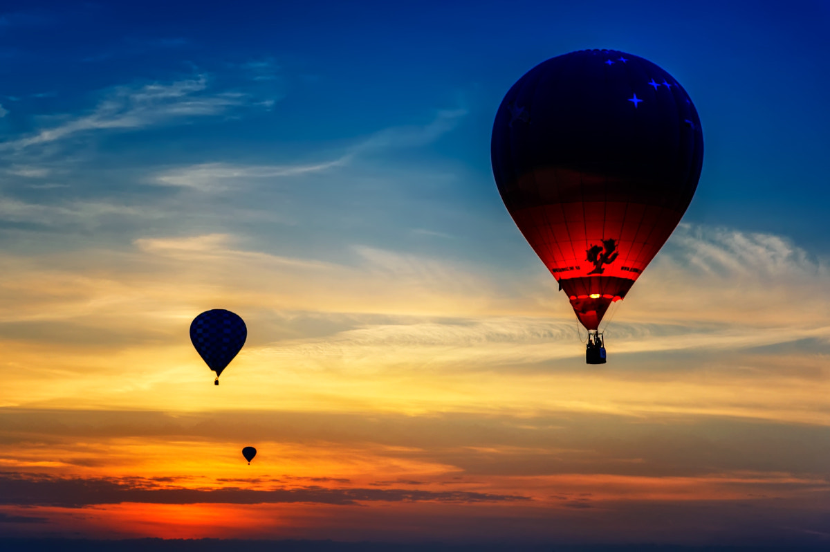 Photograph Hot air sunset by Alexey Sizov on 500px