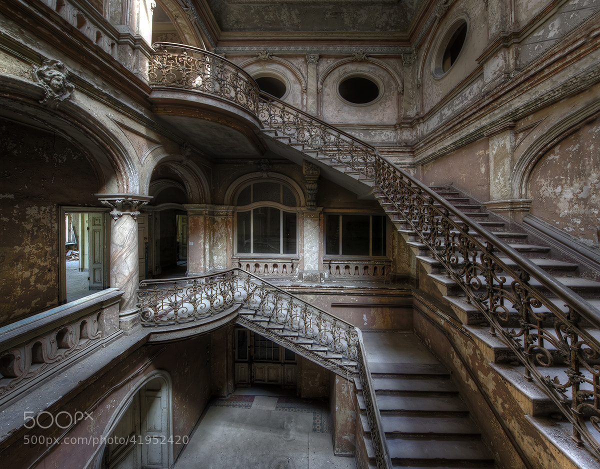 Photograph Stairs in Decay by Niki Feijen on 500px