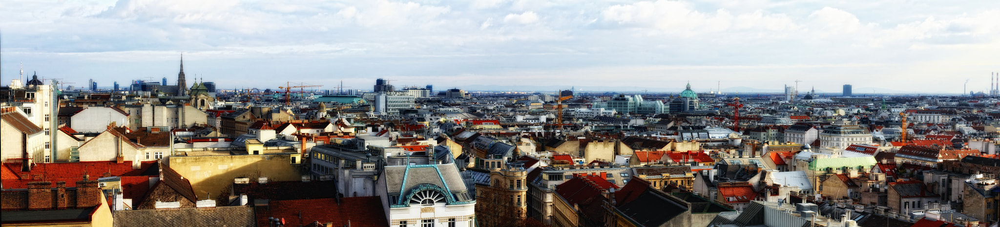 Photograph Rooftops of Vienna by Stefan Steinbauer on 500px