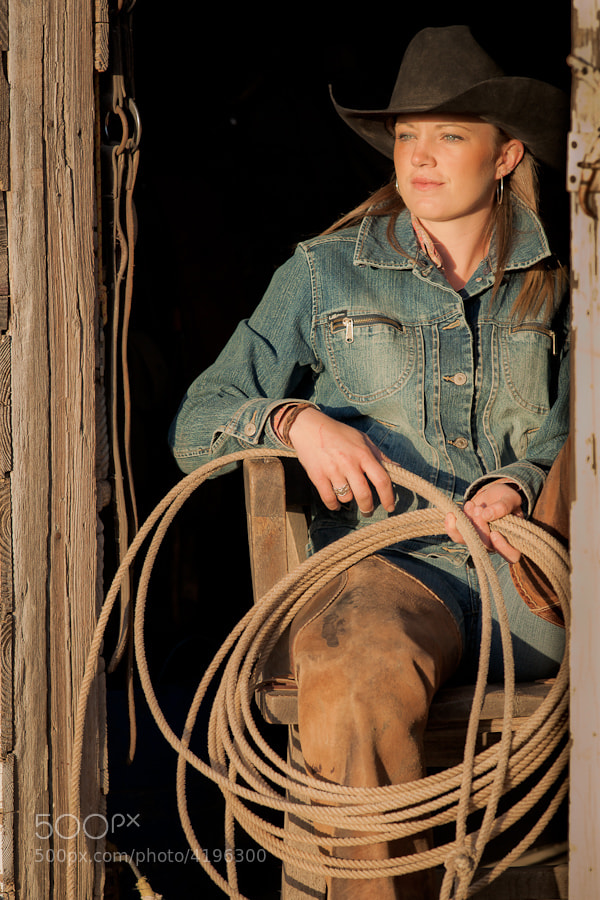 This lady can rope a calf as fast as any cowboy!  She is seen on the cover of the August, 2011 issue of Texas Monthly.