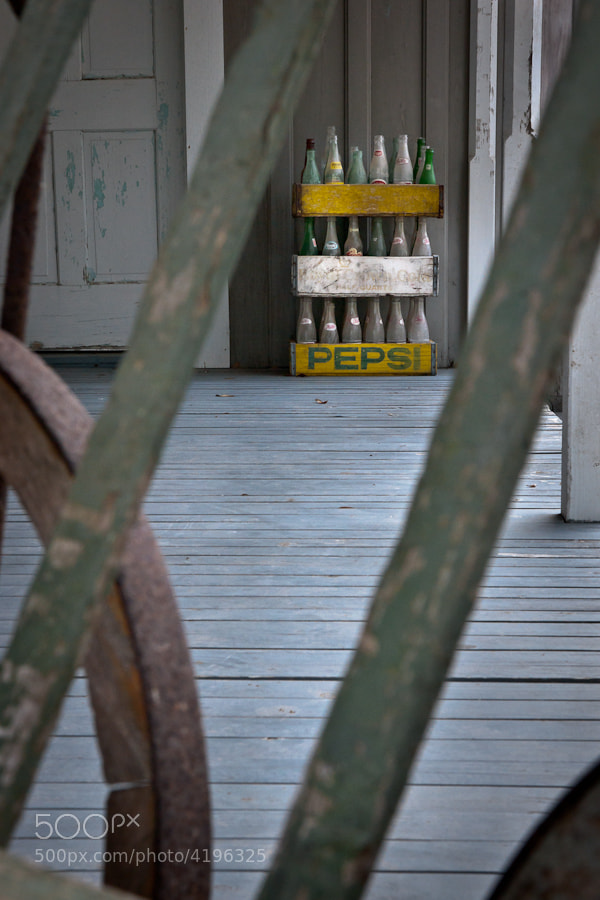 Image taken on the porch of a cabin on the Blisswood Ranch in Cat Spring