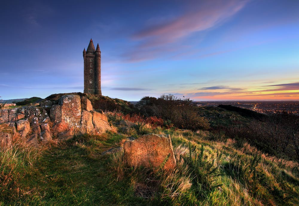 Photograph Scrabo Dawn by Stephen Emerson on 500px