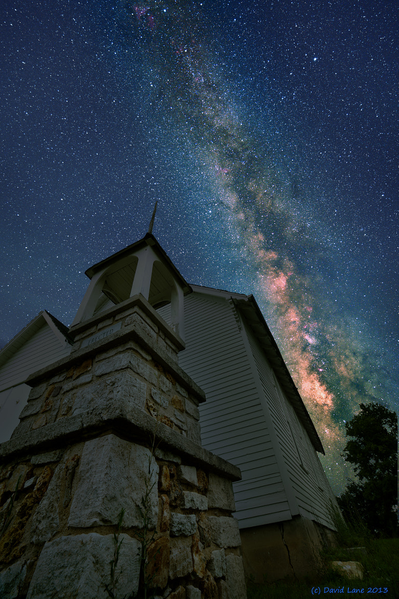 Photograph Church of the Milky Way by David Lane on 500px