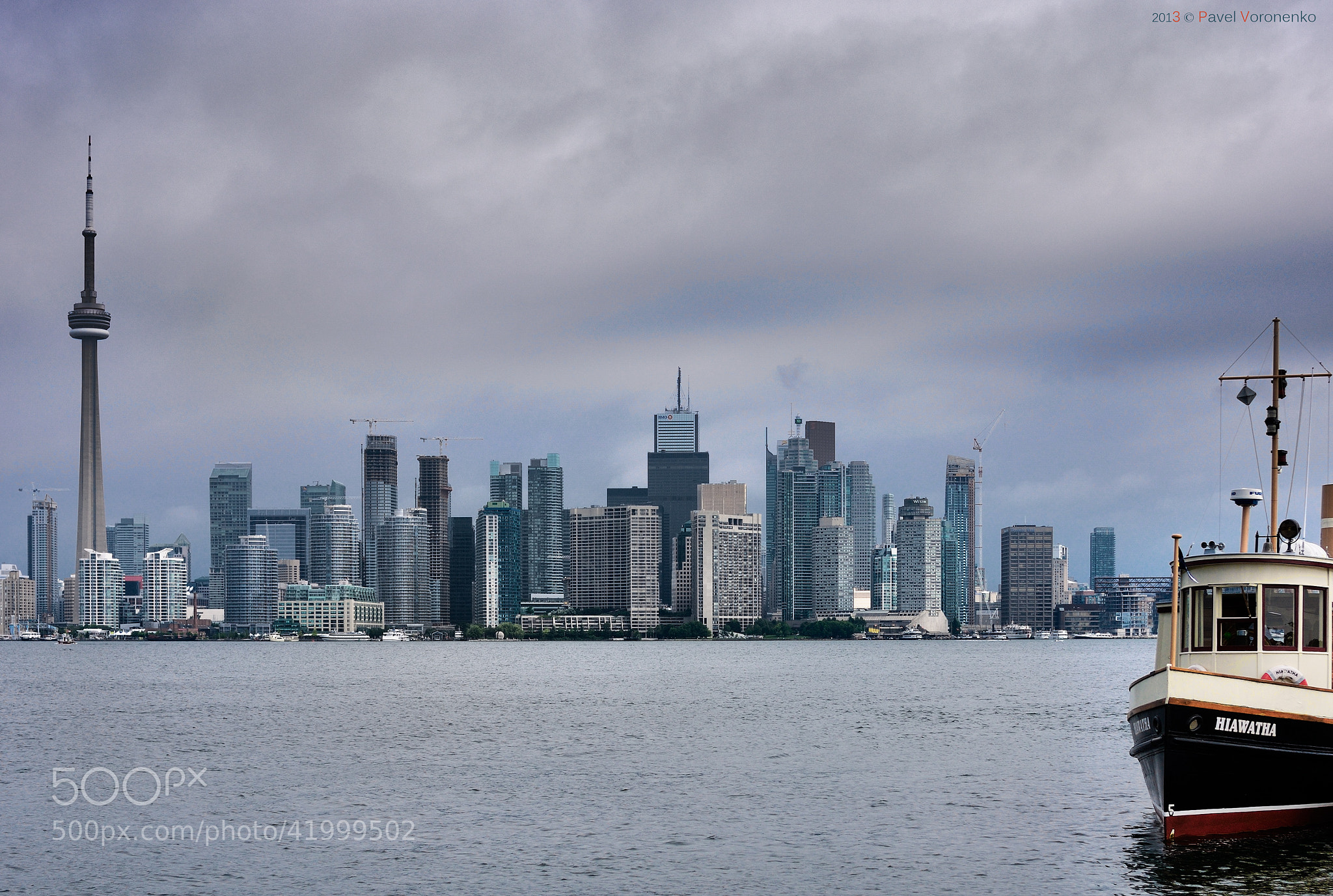 Photograph The Rising from water City of Toronto by Pavel Voronenko on 500px