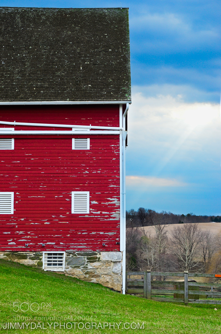 Photograph Red Barn at the Ag Farm by Jimmy Daly on 500px