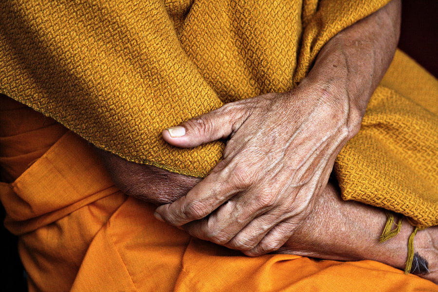 Monk's hands by Mishel Breen on 500px.com