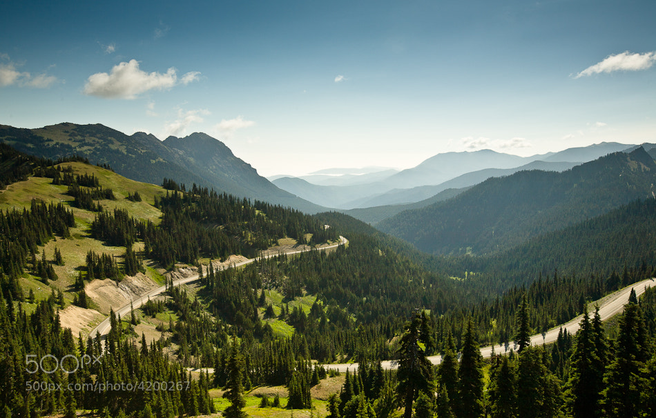 Photograph A Bend in the Road by Ghyslain Heurtel on 500px