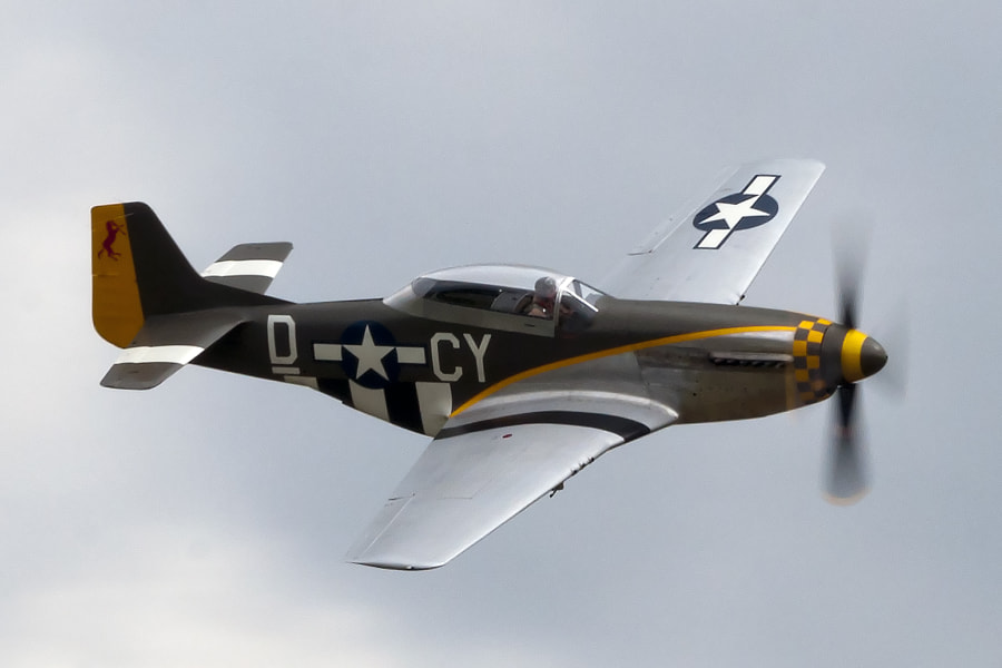 This photo was taken at the 2011 Duxford Legends air show in Duxford, England