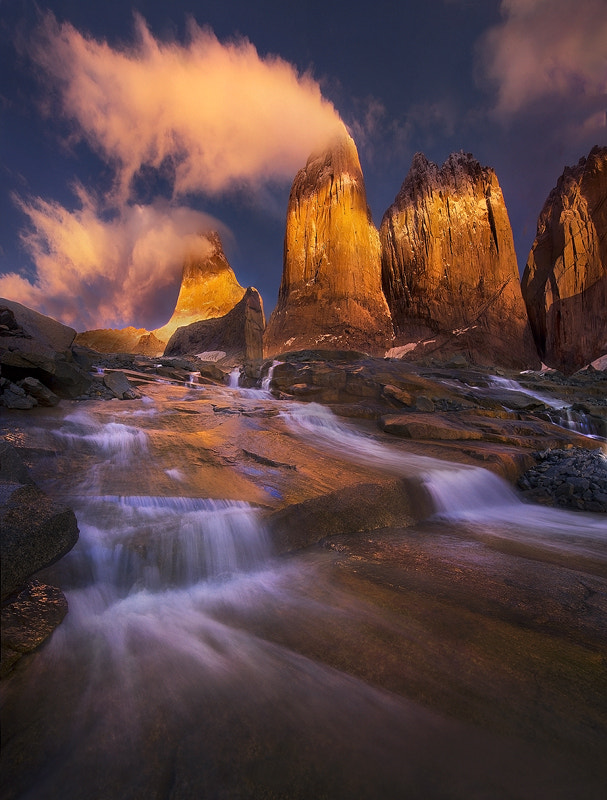 Photograph Golden Towers by Marc  Adamus on 500px