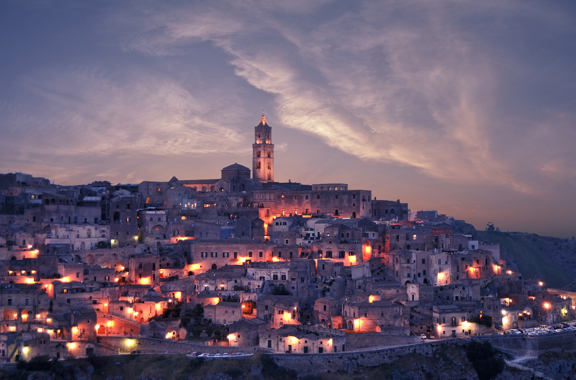 Photograph Sunset in Matera by Rocco Verrastro on 500px
