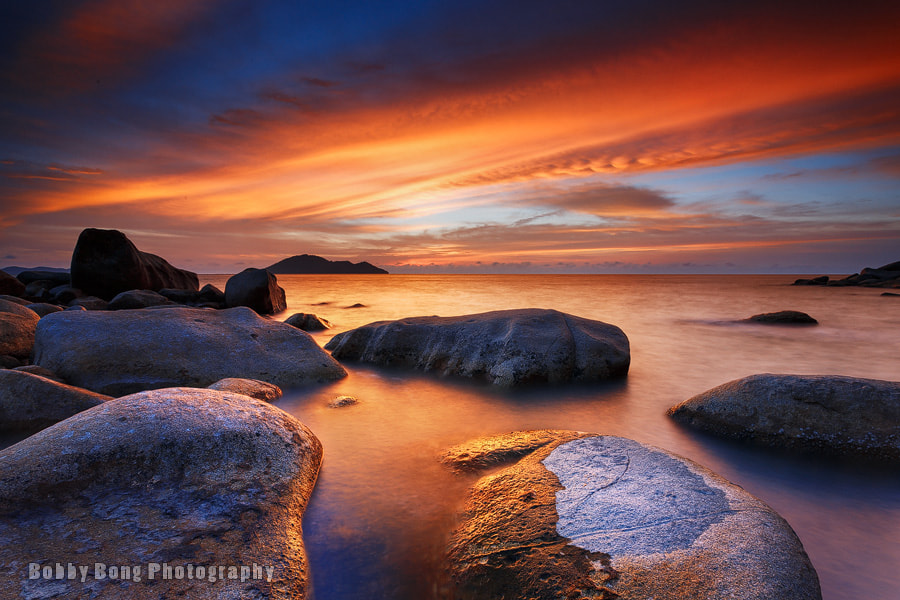 Photograph Color of Burning Sunset by Bobby Bong on 500px