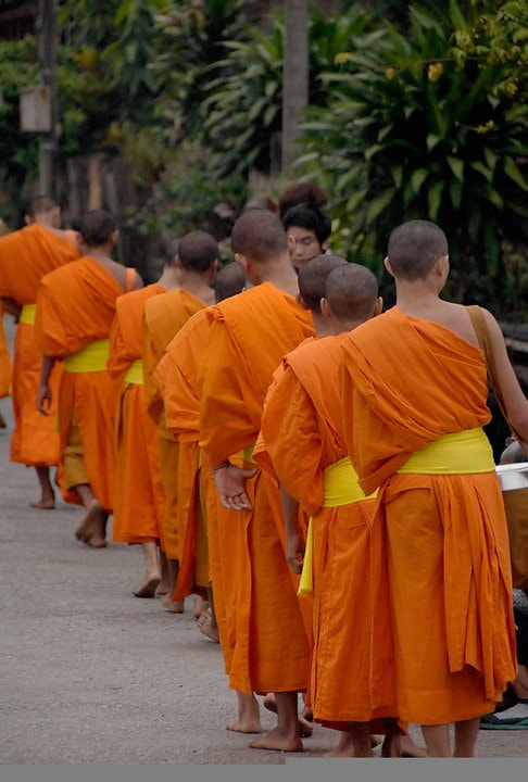 Photograph Buddhist Monks by Dean Tatooles on 500px