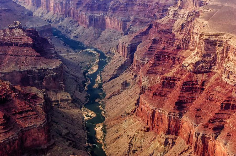 Grand Canyon Aerial View by Csilla Zelko on 500px.com