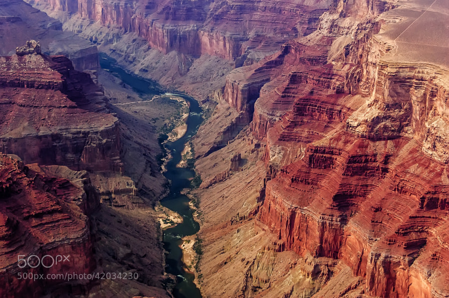 Photograph Grand Canyon Aerial View by Csilla Zelko on 500px