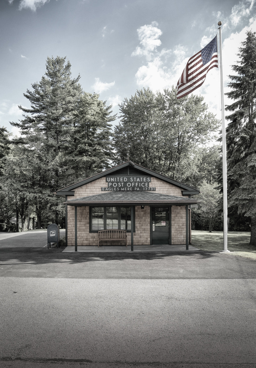 Photograph Eagles Mere Post Office by J Taylor on 500px