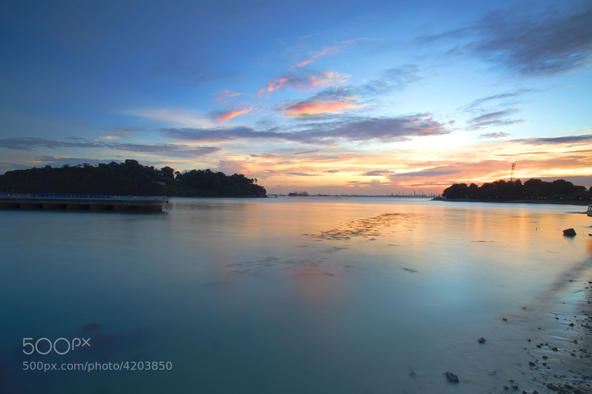 Photograph Sunset at Labrador Park by Borath Muniroath on 500px