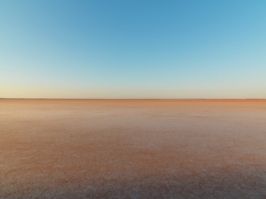 Taken on Lake Ballard in Western Australia, a large salt lake in the middle of nowhere, was an interesting place to shoot.