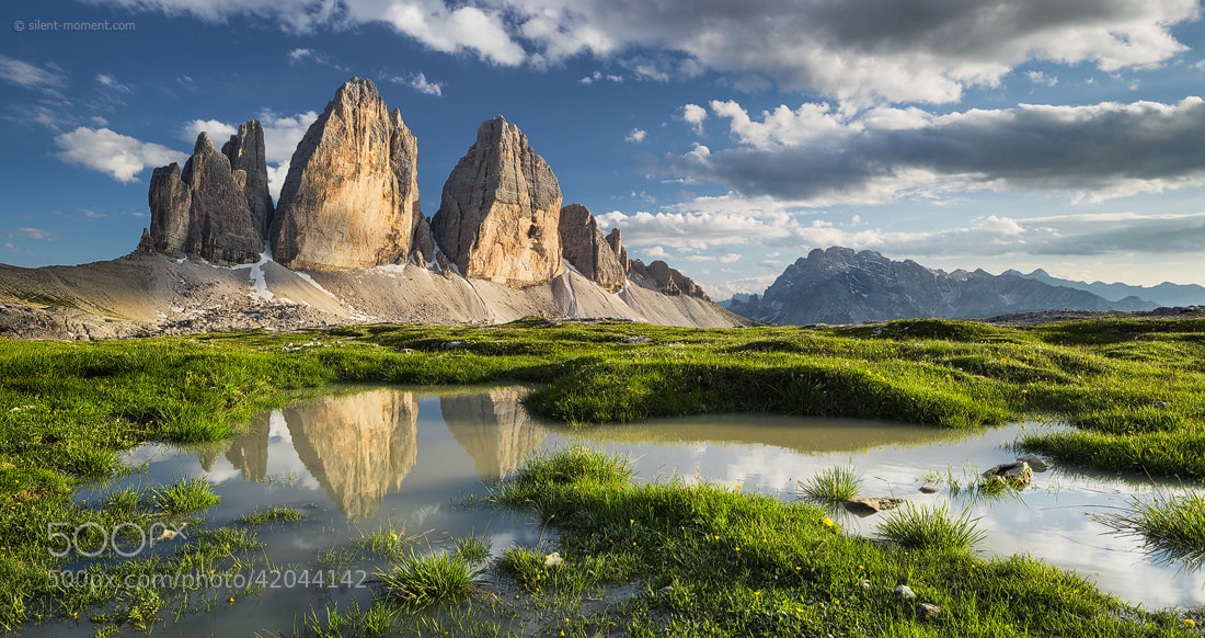 Photograph Tre Cime di Lavaredo by Rainer Mirau on 500px