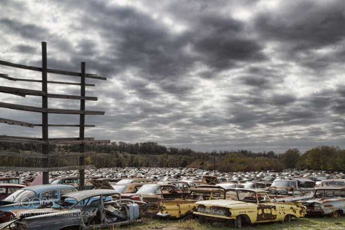 Photograph Scrapyard by John  Drennan on 500px