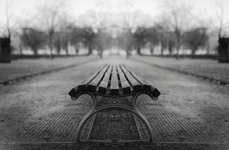 Photograph bench by Malte Ku on 500px