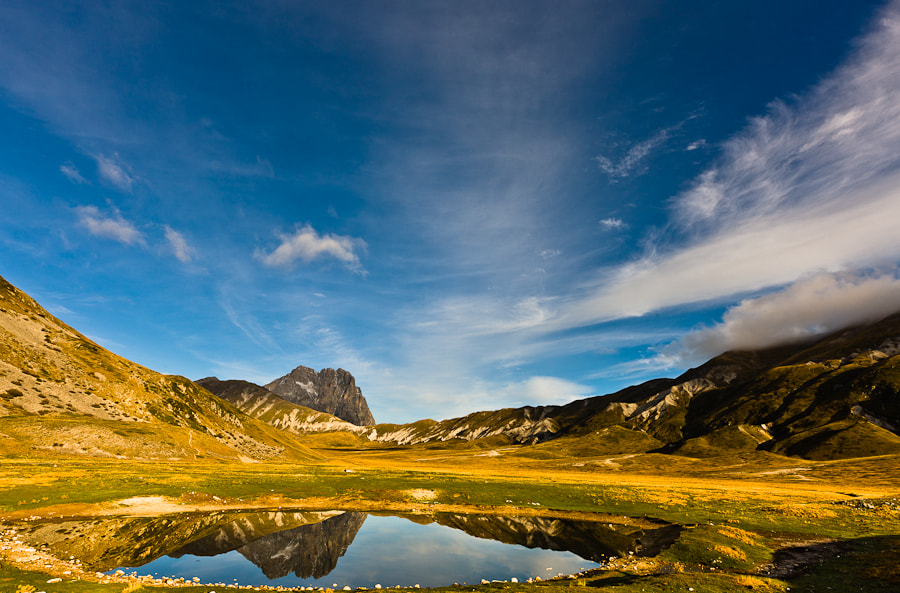 This picture was taken during a photo workshop that I led in Abruzzo in October 2011.