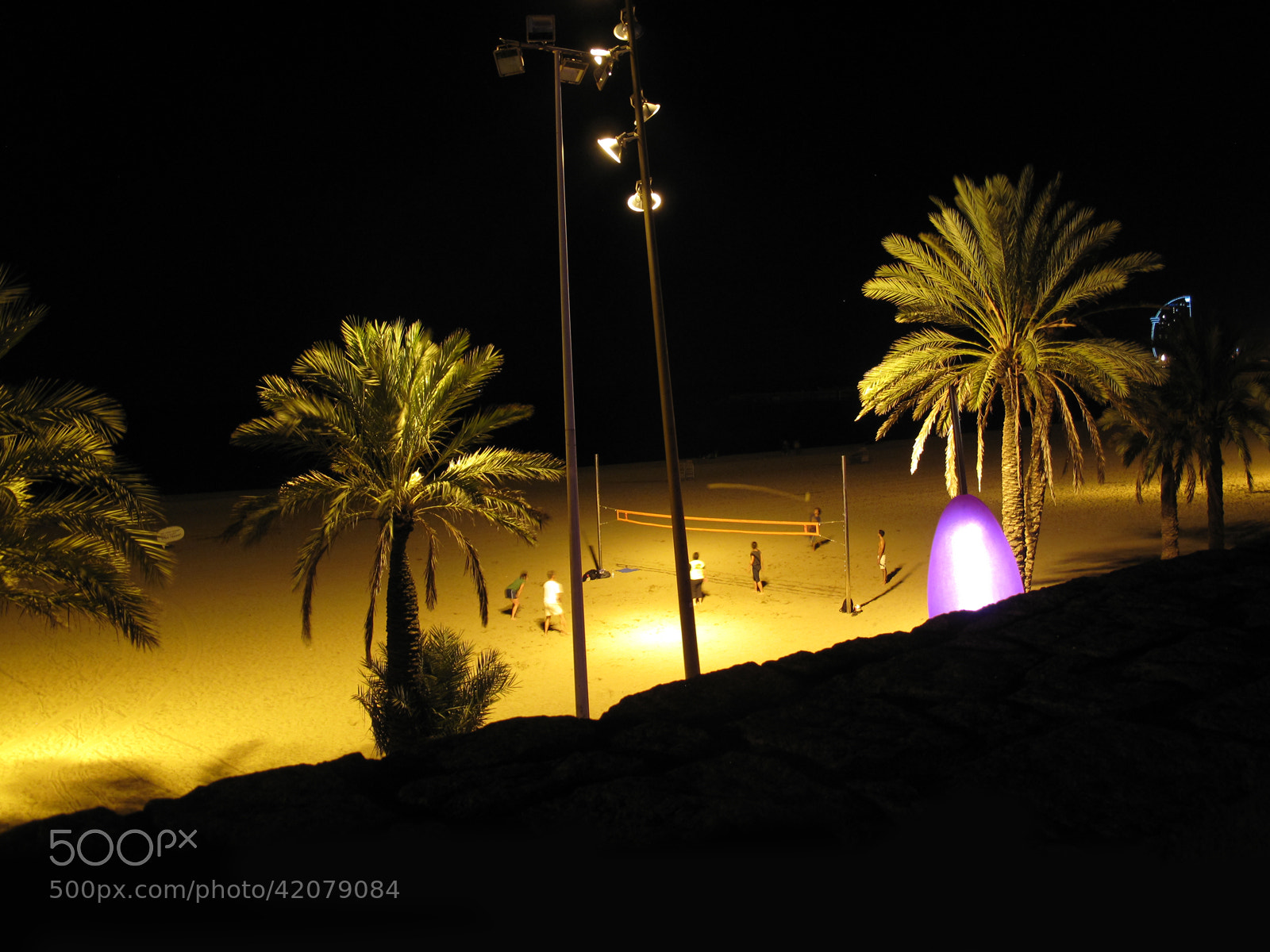 Photograph Beach Volleyball - Barceloneta by Ivanka J. Kostial on 500px