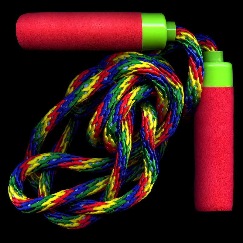 Photograph JUMP WITH COLOUR---RAINBOW SKIPPING ROPE by Magda Indigo on 500px