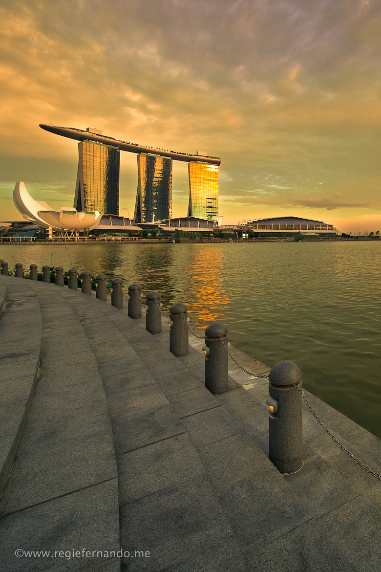 Photograph The Golden Marina Bay Sands by Regie Fernando on 500px