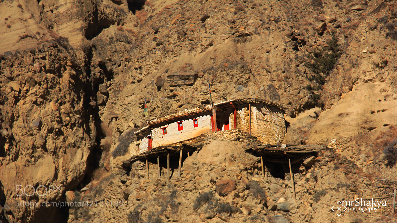 Photograph house on the hill by Manish Shakya on 500px
