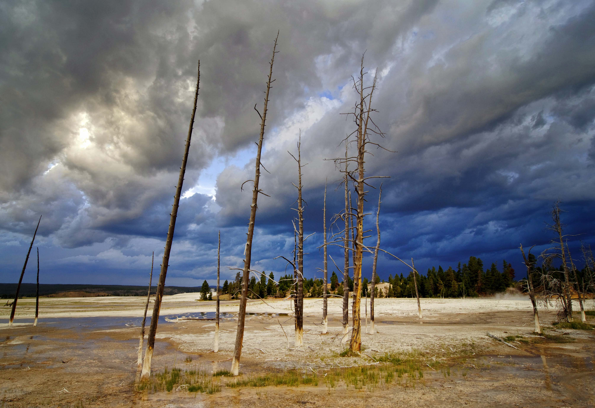 Photograph Stormy Weather In Yellowstone by Peter Bongers on 500px