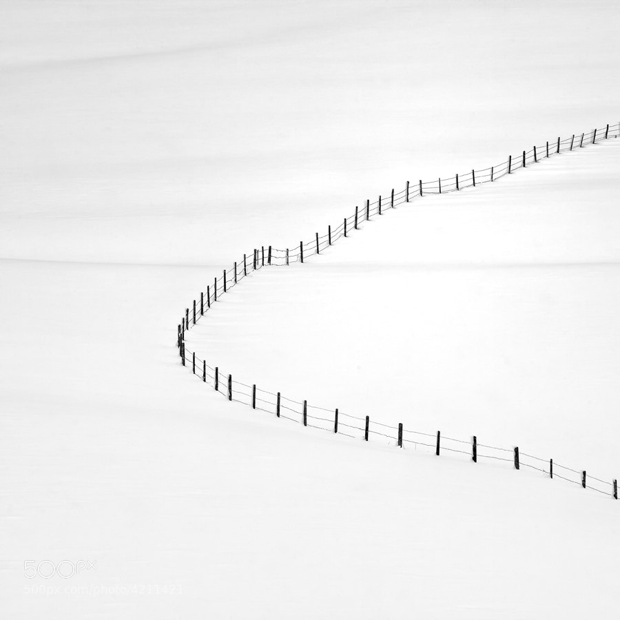 Photograph between lines by Michael Hoth on 500px